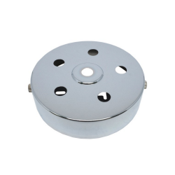 S. Lilley & Son D580/5C 100mm Six Hole Chrome Ceiling Plate