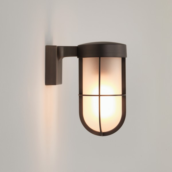 Astro 1368026 Bronze Frosted Glass Cabin Wall Light