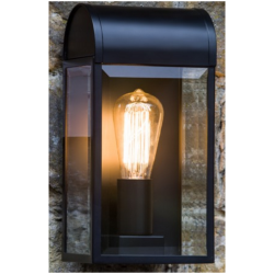 Astro Lighting 1339001 Newbury Black Wall Light