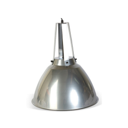 Culinary Concpets IND-SLV Domed Industrial Hanging Light - Dull Chrome