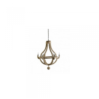 Culinary Concepts CC-CHAND-NR-SML Small Natural Rope Chandelier