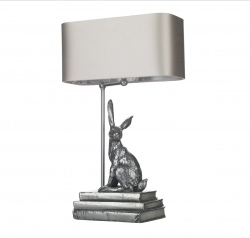David Hunt HOP4263 Hopper Table Lamp base in Antique Pewter