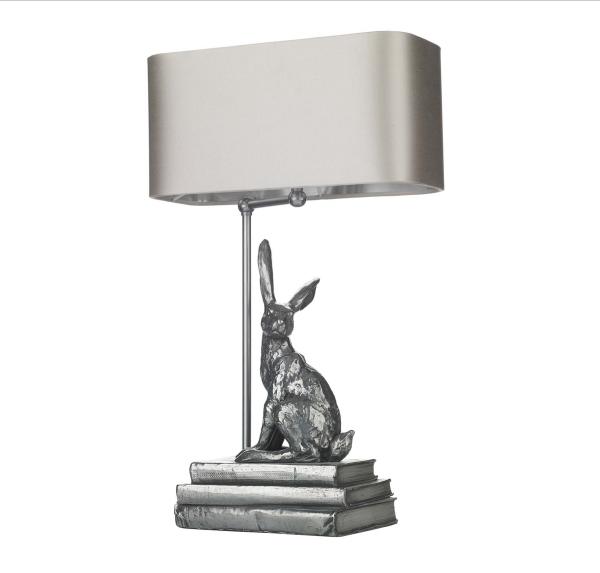 David Hunt HOP4263 Hopper Table Lamp base in Antique Pewter