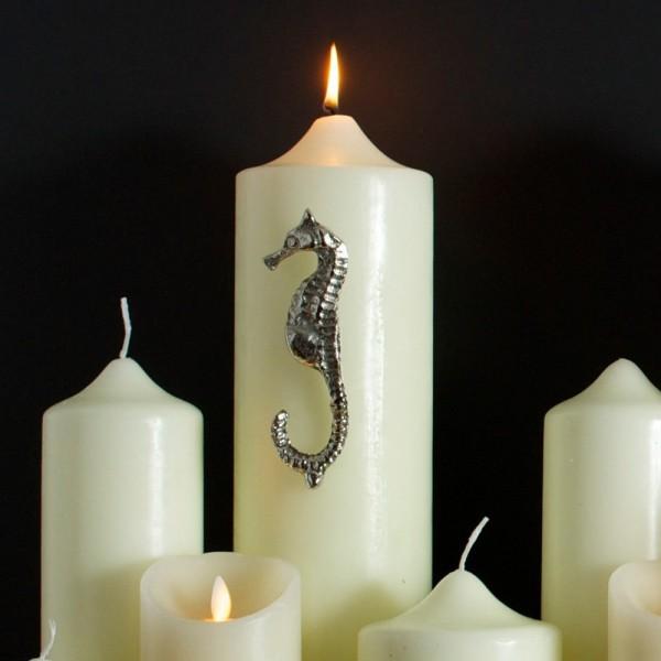 Culinary Concepts UA-CPSH-L Seashore Seahorse Candle Pin