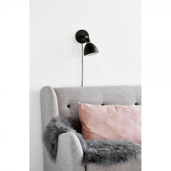 Nordlux 63191003 RAY Black Metal Wall Light