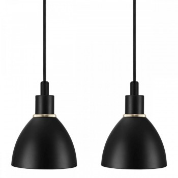 Nordlux 63233003 RAY 2-KIT Black Metal Pendant Light