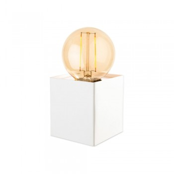 First Light 5926BS Richmond Single Light Table Lamp In Brushed Steel complete with LED Bulb