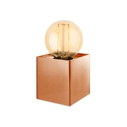 First light 5926CP Richmond Single Light Table Lamp in Copper complete with LED Bulb