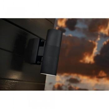 Nordlux Tin 21279903 Black Double Wall Light