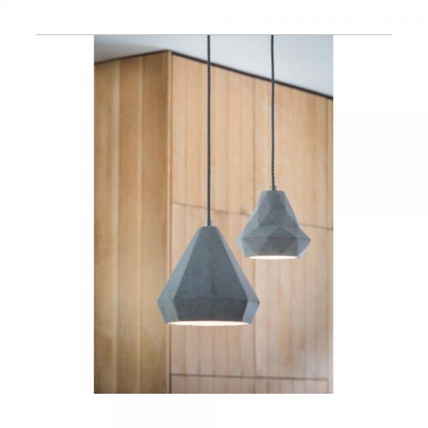 Light & Living Devany 3065625 Concrete Pendant