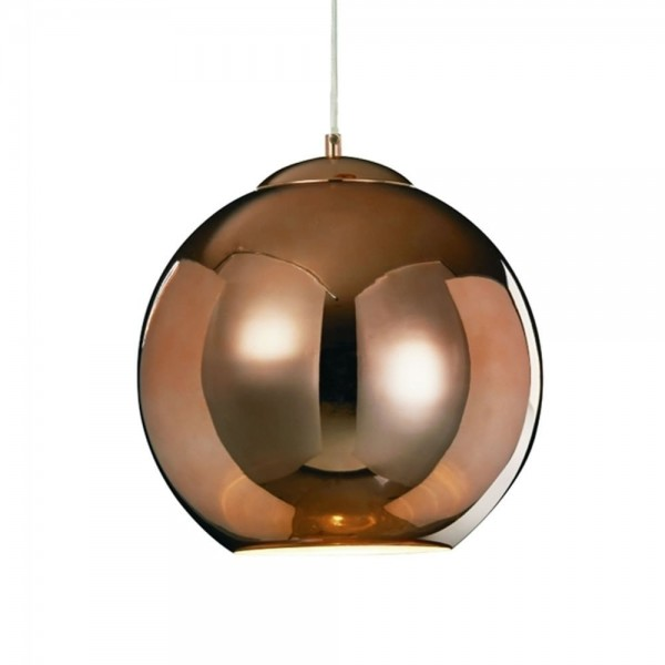 Illuminati MD13090001-1C CPR Copper Oberon Small Pendant