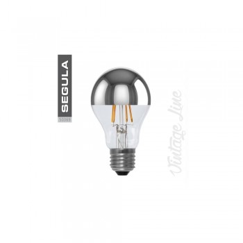 Segula 50280 LED Dimmable Bulb in Dipped Silver