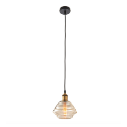 Endon Lighting 61355 Williams 1lt 60W pendant
