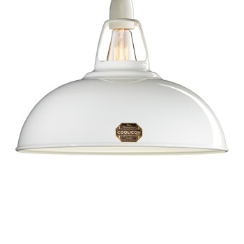Coolicon WHI01 Large Original White 1933 Design Shade