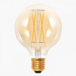 Segula 50292 Vintage Line 6W 2000K Dimmable Golden Globe 95 LED Bulb