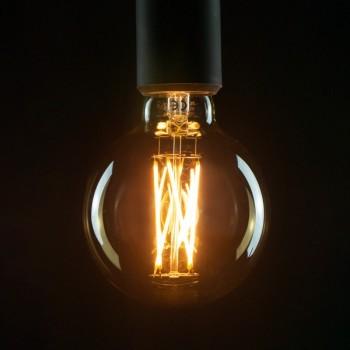 Segula 50292 Vintage Line 6W 2000K Dimmable Golden Globe 95 LED Bulb