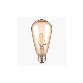 Segula 60483 Classic Line 4W 2400K Non-Dimmable E27 Golden Rustica LED Bulb