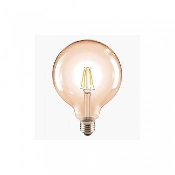 Segula 60485 Classic Line 6W 2400K Non-Dimmable E27 Golden Globe 125 LED Bulb