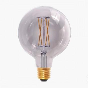 Segula 50503 Design Line 6W 2000K Dimmable E27 Smokey Grey Globe 125 LED Bulb