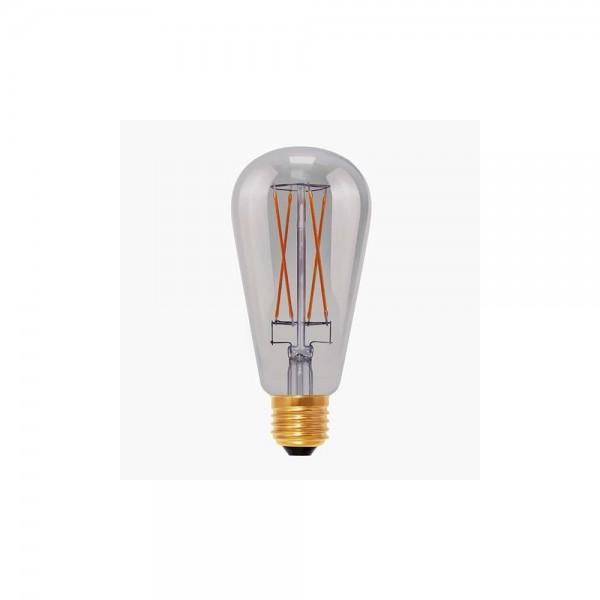Segula 50500 Design Line 6W 2000K Dimmable E27 Smokey Grey Rustica LED Bulb