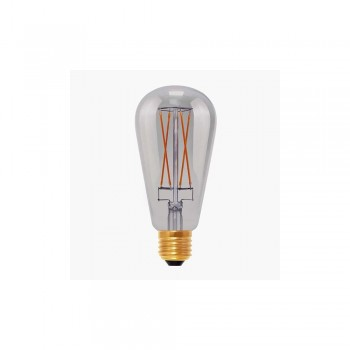 Segula 50500 Design Line 6W 2000K Dimmable E27 Smokey Grey Rustica LED Bulb