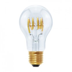 Segula 50526 Design Line 4W 2200K Dimmable E27 Clear LED Bulb with Curved Filament