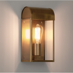 Astro 7862 Newbury Exterior Wall Light in Antique Brass