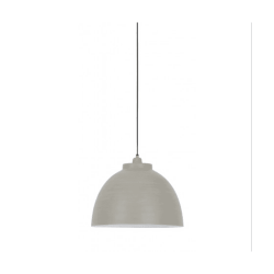 Light & Living 3019421 Kylie Concrete Hanging Pendant