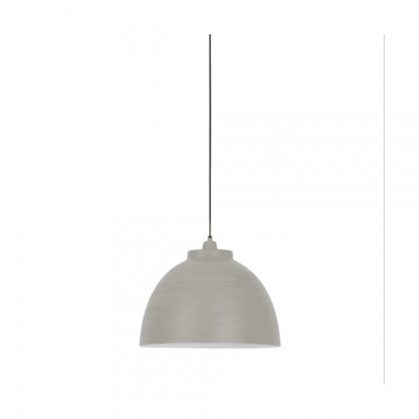 Light & Living 3019421 Kylie Concrete Hanging Pendant