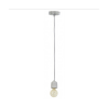 Light & Living 3055525 Bida Cement Hanging Pendant