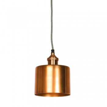 Culinary Concepts MDN-CYSML-COP Moderne Small Antique Copper Cylinder Shade & Fitment