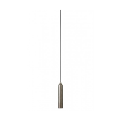 Light & Living 3083357 Dami Dark Raw Nickel Pendant