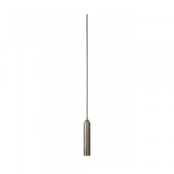 Light & Living 3083357 Dami Dark Raw Nickel Pendant