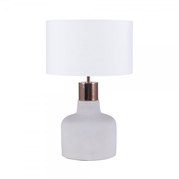 Pacific Lifestyle 30-440-C Concrete & Copper Detail Table Lamp