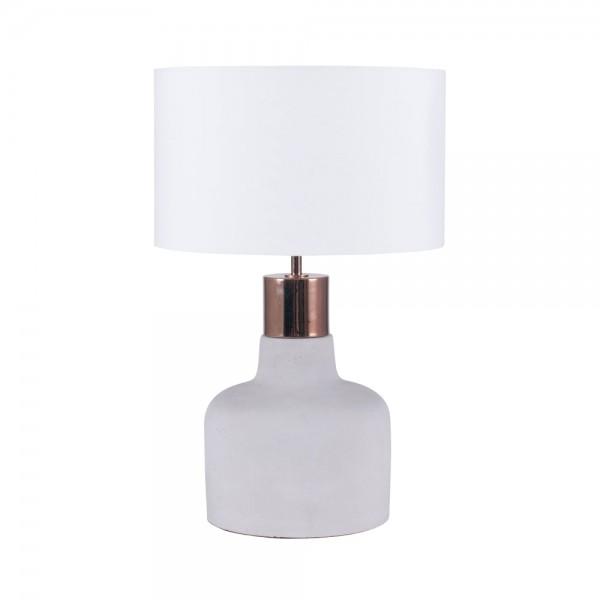 Pacific Lifestyle 30-440-C Concrete & Copper Detail Table Lamp
