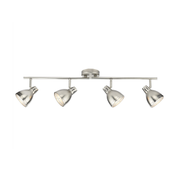 Dar OSA8461 Osaka 4-Light Bar in Antique Chrome