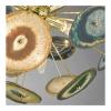 Dar ACH1355 Achates 9lt Pendant Gold & Agate