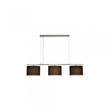 SLV 155870 TRIADEM Pendant Black