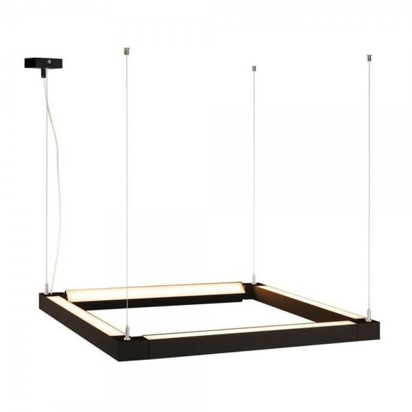 SLV 157650 Open Grill LED DoubleTwist Black Pendant