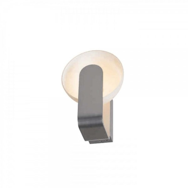 SLV 149421 BRENDA LED White/Silver Wall Light