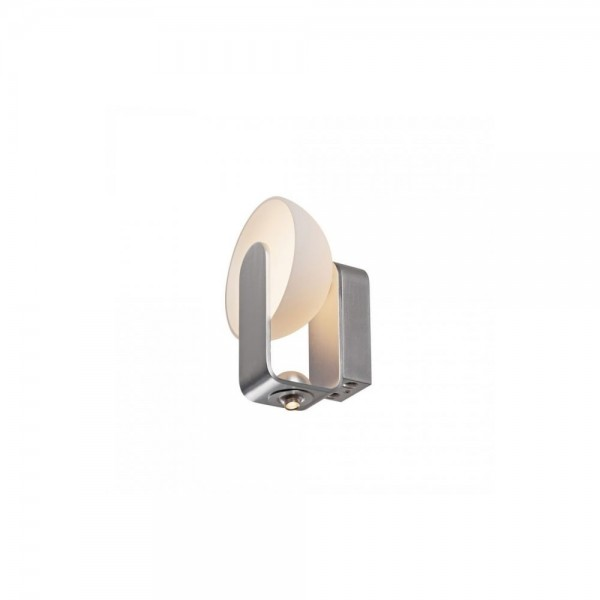 SLV 149431 BRENDA LED White/Silver Wall Light with LEDSPOT