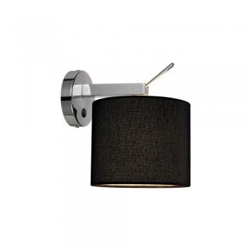SLV 156020 TENORA WL-1 Black Wall Light