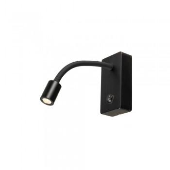 SLV 146700 Pipoflex Black Wall Light
