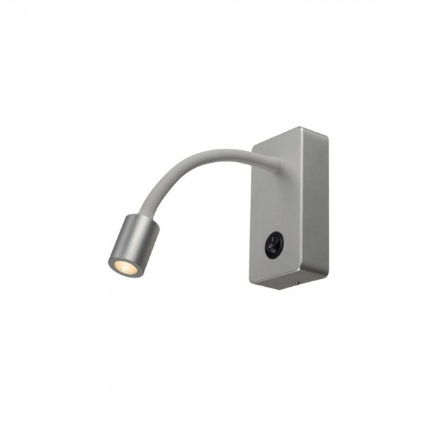 SLV 146704 Pipoflex Silver-Grey Wall Light
