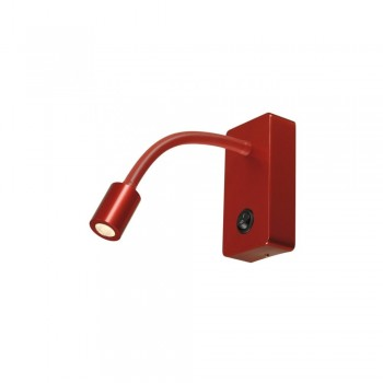 SLV 146706 Pipoflex Red Wall Light