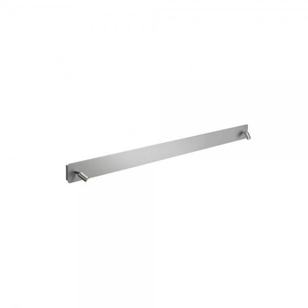 SLV 155114 Aluminium Brushed NAPIA Twin Wall Light