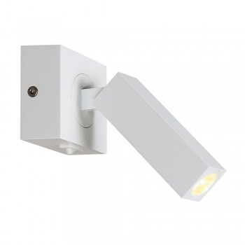 SLV 146271 STIX LED Wall Light in White