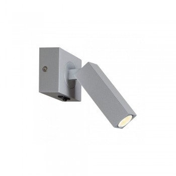 SLV 1000326 STIX LED Wall Light in Silver-Grey
