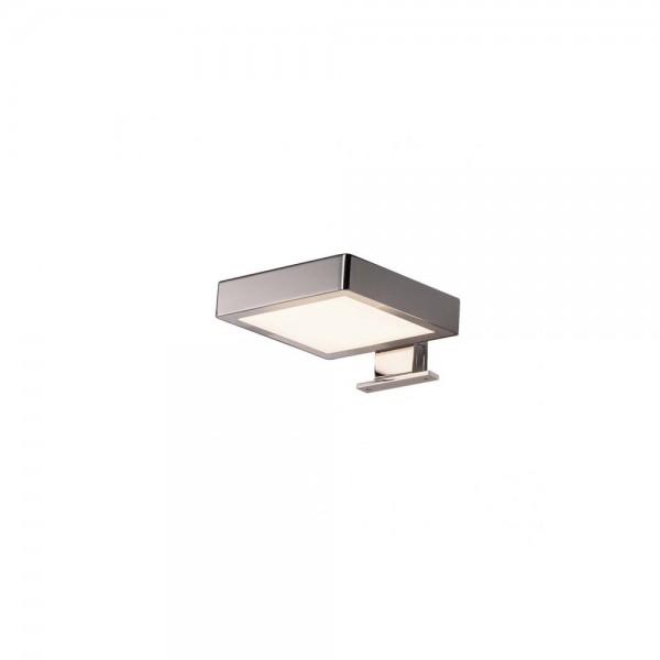 SLV 1000816 Chrome Dorisa LED Square Wall Light
