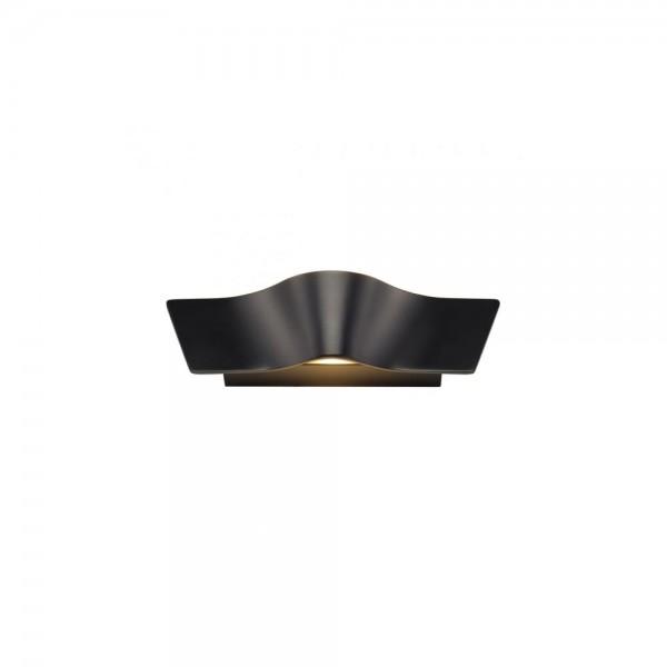 SLV 147820 Black Wave Wall Light